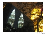 Petronas Twin Towers Reflected